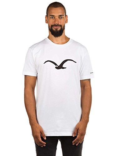 Cleptomanicx Herren T-Shirt White Black