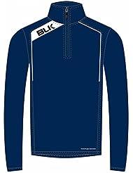 BLK Rugby 1/4demi-zip pour entraînement weatshirt Marine