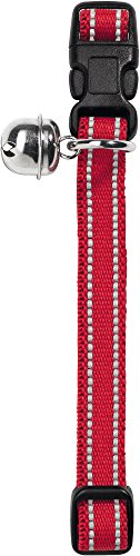 Hunter Katzenhalsband Flashlight Nylon reflektierend, rot