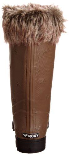 Roxy - JADE - WPWSL202-CNB, Bottes de pluie femme Marron-TR-H4-570
