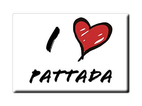 Enjoymagnets PATTADA Souvenir Sardegna (SS) KÜHLSCHRANK Magnet Fridge ICH Liebe Gift I Love (VAR. Informal) - Ss-side-by-side Kühlschrank
