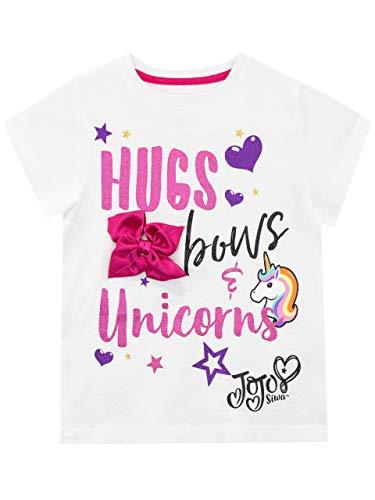 JoJo Siwa Camiseta de Manga Corta para niñas Unicornio 11-12 Años