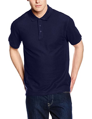 fruit-of-the-loom-ss035m-polo-homme-bleu-marine-xxxl