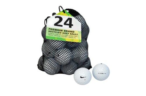 Golfbälle 20xi Nike (Second Chance Golfbälle 24 Nike 20XI Lake A-Qualität, weiß, PRE-24-MESH-NIK-XI)