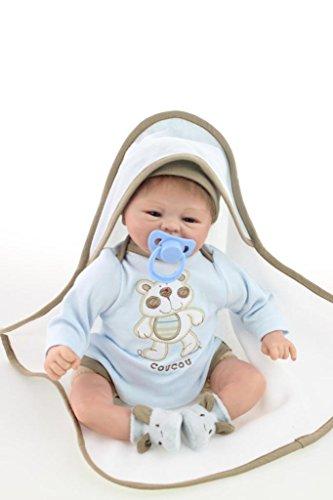 nicery-reborn-baby-doll-soft-simulation-silicone-vinyl-16inch-40cm-magnetic-mouth-lifelike-boy-girl-
