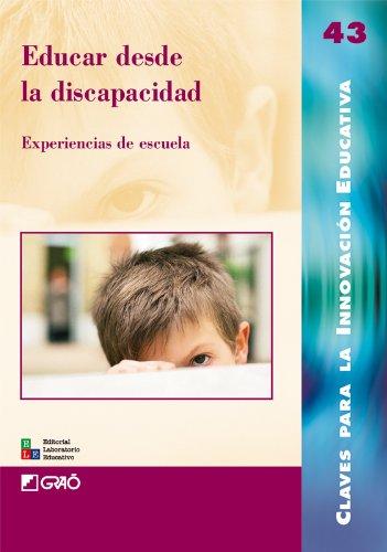 Educar Desde La Discapacidad: 043 (Editorial Popular) por Imma Bo Barnadas