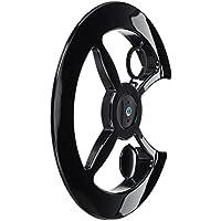 Point - Cubrecadenas (fijación universal, PVC) negro negro Talla:42-44 Zähne