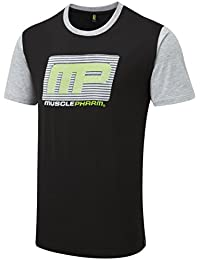 Everlast textilbekleidung musclepharm mens t-shirt pour homme