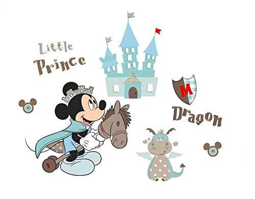 Kibi Stickers Muraux Mickey Stickers Muraux Minnie et Mickey Stickers Muraux Enfants Mickey Stickers Muraux Chambre Bébé Autocollants Mickey Mouse Autocollants Enfants Mickey