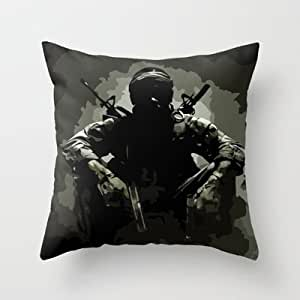 Heart Mall Pillowcases Taie d'oreiller Motif Call of Duty Camouflage