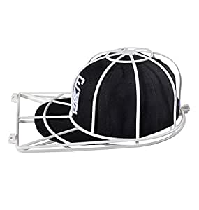 Ball Cap Washer for Washing Machines & Dish Washers (White and Plastic)