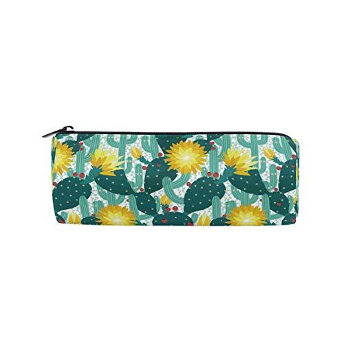 Tropische Beeren (Ahomy Stifteetui, tropische Kaktusblüte, Äste, Beeren, Prickles Reißverschluss, Bleistifttasche für Teenager Mädchen und Jungen, Reisetasche für Frauen)