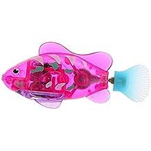 Naisicatar Piscina Robot Fish, Activado y Agua Mágico niños de Juguete electrónico de Regalo Infantil