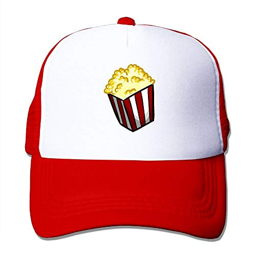 Vidmkeo Popcorn Mesh Trucker Caps/Hats Adjustable for Unisex Black -