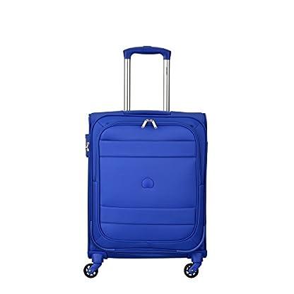 41rWH%2BtLPuL. SS416  - DELSEY PARIS INDISCRETE Equipaje de mano, 55 cm, 39 liters, Azul (Bleu Clair)