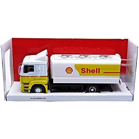 Mondo Motors - 58009 serbatoio - MAN TGX 26 - Serbatoio benzina Shell - Scala 1/43