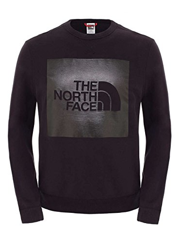 North Face M Fine Crew Sweat Herren Sweatshirt Schwarz