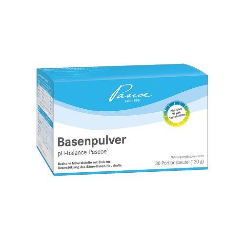 Basenpulver pH-Balance Pascoe, 30 St. Portionsbeutel