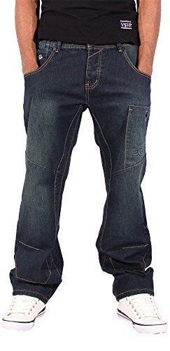 ecko-mens-boys-ashton-star-jeans-time-is-money-g-denim-hip-hop-nappy-wear-w36-l31