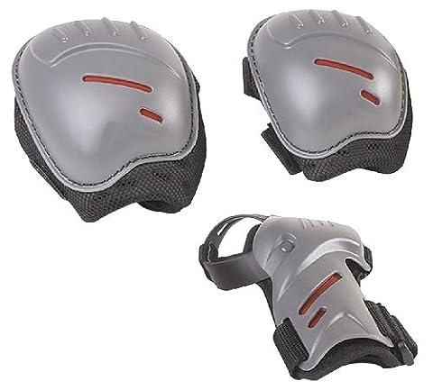 HUDORA Protektoren-Set Kinder, biomechanisch, Gr. S (ca. 3 - 7 Jahre) - Schutzausrüstung Inliner Skater, Rollschuhe