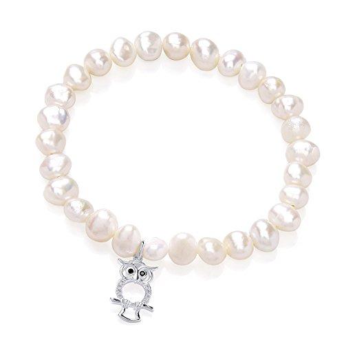 jodi-rose-freshwater-pearl-and-sterling-silver-owl-bracelet-of-65-cm