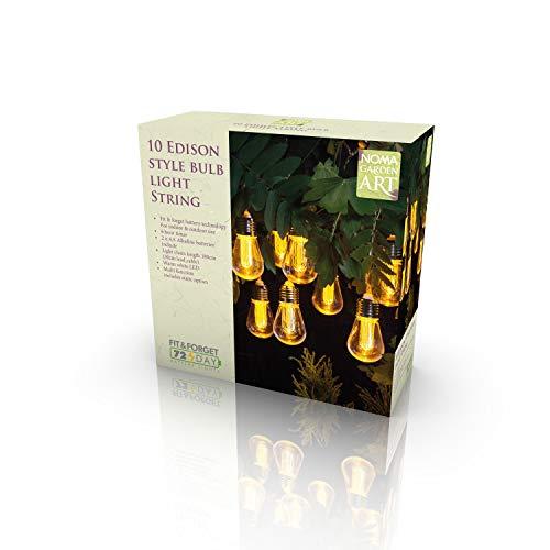 Starlux LED-Lichterkette Edison