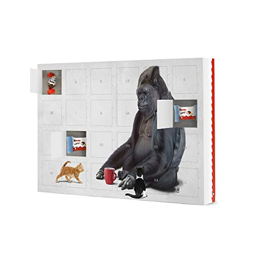 artboxONE Adventskalender mit Produkten von Kinder® I Should, Koko (Wordless) Adventskalender Für Kinder -