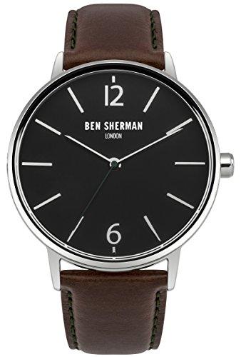Ben Sherman Herren-Armbanduhr Analog Quarz WB059BRN