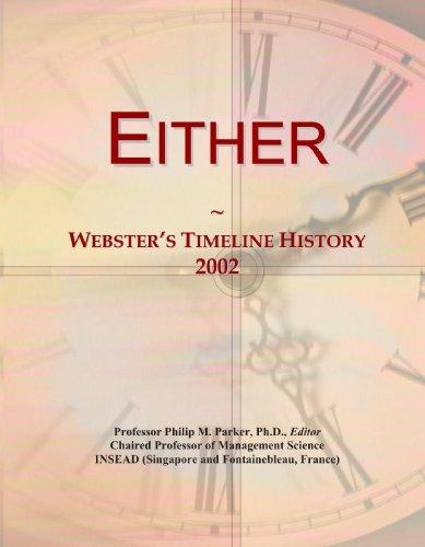 Either: Webster's Timeline History, 2002