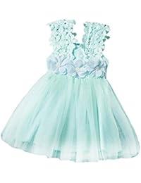 Bebe Vestidos, Switchali alta calidad bebés encaje Tul Vestido de Fiesta chica Vestir Dama de honor Verano Niña princesa vestido de fiesta