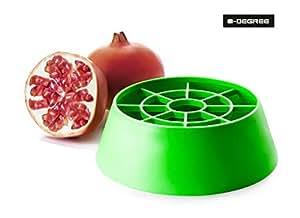 0-Degree Pomegranate seed extractor peeler anar deseeder cutter under 60 seconds ( PomegranateDeseederBase )