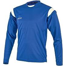 Mitre Motion - Maglia da calciatore, unisex, da adulto, Blu (Bianco Royal), Large/42-44 Inch