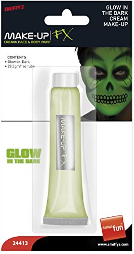 Makeup leuchtend Glow Leuchtcreme Halloween (Make Creme Glow In Up The Dark)