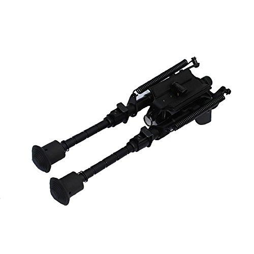 Malloom® 6-9 Zoll verstellbarer Dreh- / Drehfeder-Rückholgewehr Zweibein-justierbare Beine (8in Bein)