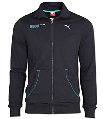 puma herren mercedes amg petronas jacke sweatjacke xs. Black Bedroom Furniture Sets. Home Design Ideas