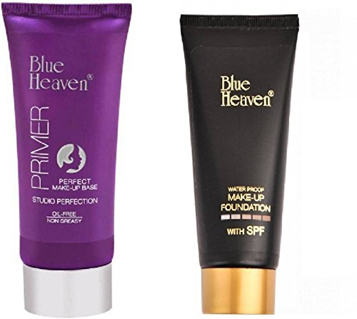 Blue Heaven Beautyandcare Primer Foundation Tube Combo (PRIMER-FOUNDATION-TUBE-BH)
