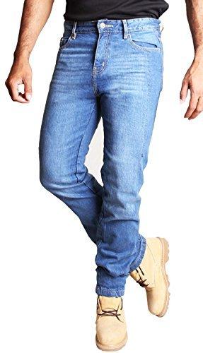 HB Aramid Verstärkte Herren-Motarrad-Jeans. Kostenlose Protektoren Enthalten. 5005, 36W x 32L