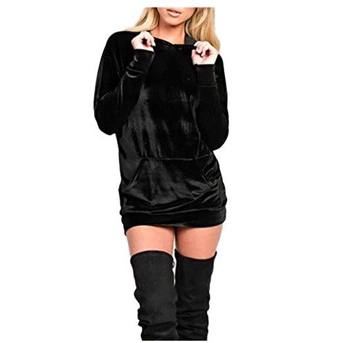 rosennie-damen-samt-mit-kapuze-sweatshirt-kleid-asiatisch-s-schwarz
