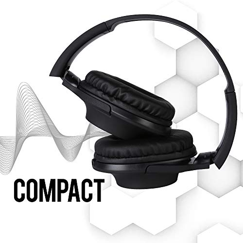 Rhythm&Blues A300 On-Ear Wired Headphones with mic (Black) Image 5