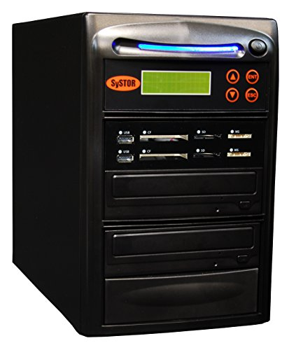 Systor 1-1 USB / SD / CF / MS Alles in einem Combo Flash Memory Drive Karten Disc Duplicator Pocket Disc Kanada