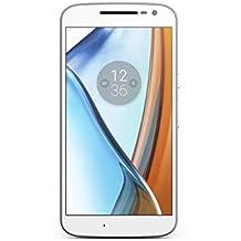 (CERTIFIED REFURBISHED) Motorola G4 XT1624 (White, 16GB)