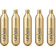 zzysh Cartridges Champagne Champagnerkartuschen 5er Set für zzysh Vakuumierer gegen Oxidation bei angebrochenen Champagnerflaschen. Kein Ausperlen, immer wiede prickelnder Genuss!