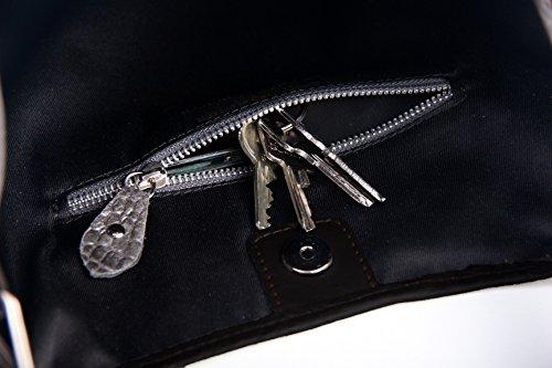 c10b87589c0dc ... SLINGBAG II Simone XL Shopper   Schultertasche   Beuteltasche aus hochwertigem  Leder mit Flechtoptik   FARBAUSWAHL