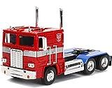Transformers Autobot Modello 23cm DieCast Optimus Prime Scala 1/24 Originale JadaToys
