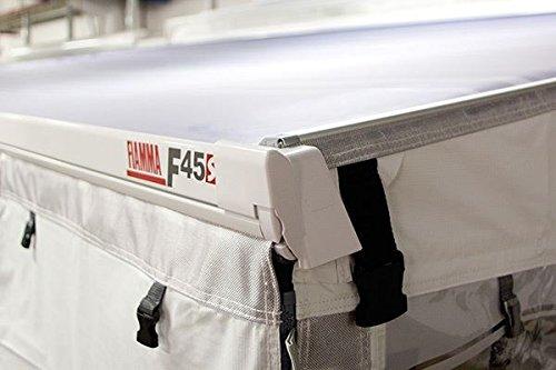 Fiamma F45S & ZIP S Motorhome Caravan Privacy Room Awning Rain Caps 06893-01-