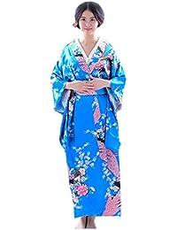 Botanmu Women's Kimono Robe Japanese Dress Photography Cosplay Costume 5 Colors