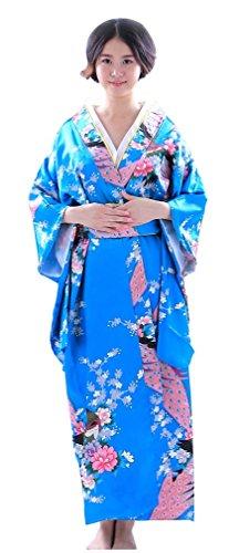 Botanmu Frauen Kimono Robe Japanische Kleid Fotografie Cosplay Kostüm 5 Farben (Japaner Kostüme)