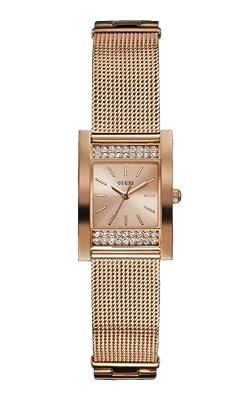 Guess Reloj analogico para Mujer de Cuarzo con Correa en Acero Inoxidable W0127L3 de Guess