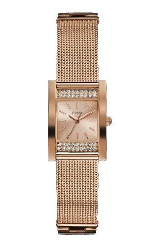 Guess orologio analogico al quarzo donna con cinturino in acciaio inox w0127l3
