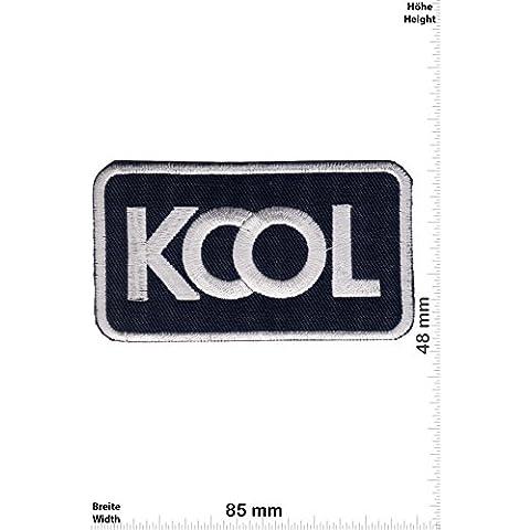 Patch - Kool - Fun - Kool- toppa - applicazione - Ricamato termo-adesivo - Patch